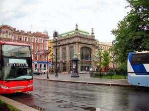 Автобусная экскурсия по Петербургу